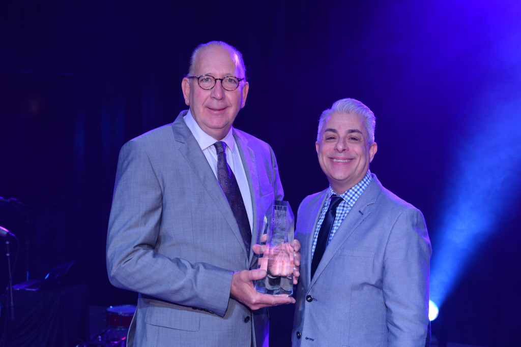 Jim and Espo with Award